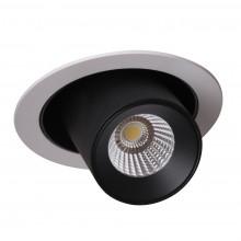 Встраиваемый светодиодный светильник Crystal Lux CLT 011C WH-BL белый/черный 10 Вт 4000К