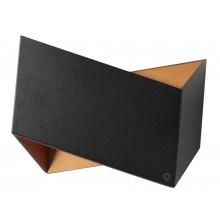 Настенный светодиодный светильник Crystal Lux CLT 012 BL-GO черный/золотой