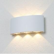 Настенный светодиодный светильник Crystal Lux CLT 023W3 WH белый 1 Вт 3000К