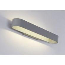 Настенный светодиодный светильник Crystal Lux CLT 511W425 GR серый 12 Вт 4000К