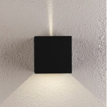 Настенный светодиодный светильник Crystal Lux CLT 520W BL черный 6 Вт 4000К