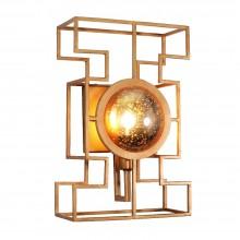 Бра в стиле Лофт Crystal Lux CUENTO AP1 GOLD состаренное золото
