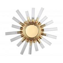 Бра Crystal Lux FAIR AP9 GOLD D520 Золотой