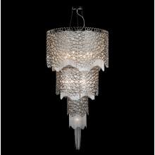Хрустальная люстра Crystal Lux HAUBERK SP-PL12+8+4 никель