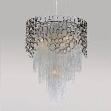 Хрустальная люстра Crystal Lux HAUBERK SP-PL6 D45 никель