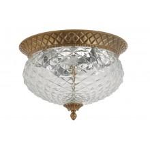 Потолочный светильник Crystal Lux HOLA PL4 BRONZE матовая бронза