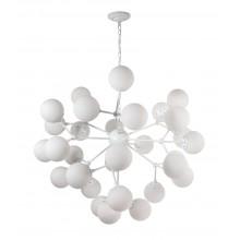 Люстра в стиле Лофт Crystal Lux MEDEA WHITE SP30 белый