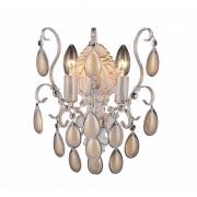 Бра Crystal Lux SEVILIA AP2 GOLD белый, золотая патина