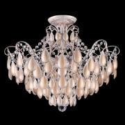 Потолочная люстра Crystal Lux SEVILIA PL6 GOLD белый, золотая патина