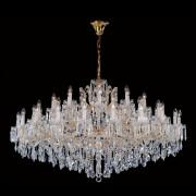 Хрустальная люстра Crystal Lux TESORO SP50 золотой/прозрачный