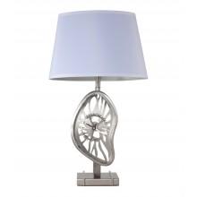 Настольная лампа Crystal Lux VALENCIA LG1 никель