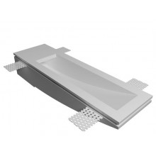 Врезной гипсовый светильник Декоратор ST-007-1 280*80 мм G9