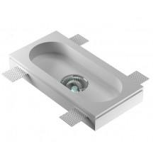 Врезной гипсовый светильник Декоратор VS-020 220*110 мм GU5.3 MR16
