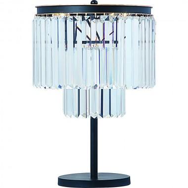 Настольная лампа Divinare 3001/01 TL-4 NOVA Черно-золотой