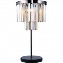 Настольная лампа Divinare 3002/06 TL-3 NOVA COGNAC Черный Хром