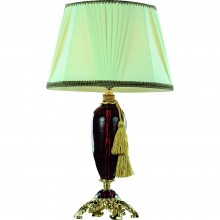 Настольная лампа Divinare 5125/10 TL-1 SIMONA Золото, красный