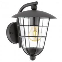 Уличный настенный светильник Eglo Pulfero 94841 черный E27 60 Вт