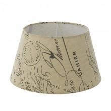 Абажур Eglo Vintage 49987 E27*E14 ф250, H140, текстиль с рисунком, бежевый, коричневый