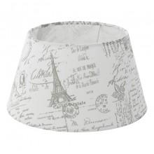 Абажур Eglo Vintage 49964 E27*E14 ф250, H140, текстиль с рисунком, белый, серый