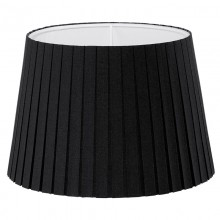 Абажур Eglo Vintage 49413 E14 ф245, Н170, ткань плиссе, черный