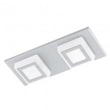 Потолочный светодиодный светильник Eglo Masiano 94506 алюминий брашированный LED 6,6 Вт 3000K