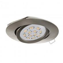 Встраиваемый светильник Eglo Tedo 31688 никель матовый GU10 5 Вт