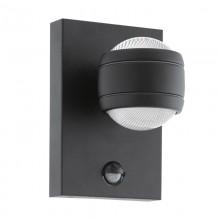 Уличный светильник с датчиком движения Eglo Sesimba 1 96021 черный LED 7,4 Вт 3000K