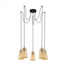 Подвесной светильник Eglo Claverdon 43255 черный E27 40 Вт