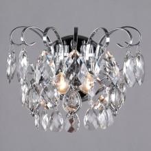 Бра Eurosvet 10081/2 хром/прозрачный хрусталь Strotskis Crystal