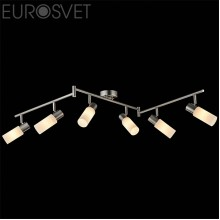 Светильник спот Eurosvet 20043/6 сатин-никель Madison