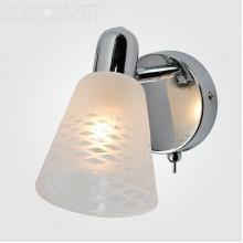 Светильник спот Eurosvet 20053/1 хром Organic
