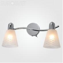 Светильник спот Eurosvet 20053/2 хром Organic