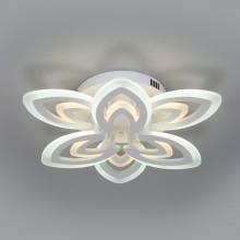 Потолочный светодиодный светильник с пультом управления 90227/6 белый