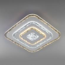 Потолочный светодиодный светильник с пультом управления 90211/1 белый