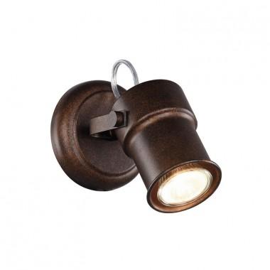 Спот в стиле Лофт Favourite 2025-1W Arcu коричневый