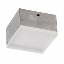 Накладной светильник Favourite 1351-9C Flashled серый 9 Вт 150*150 мм 3000К