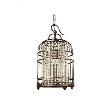Светильник подвесной Favourite 9578-1P Cage бронза