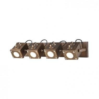 Спот в стиле Лофт Favourite 2037-4W Foco коричневый