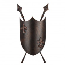 Светильник настенный Favourite 1786-2W Schild коричневый