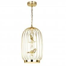 Светильник подвесной светодиодный Favourite 1928-2P Chick золото 17 Вт 3500-4000 K