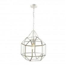Подвесной светильник Favourite 1949-1P Quadratum античный белый 1*E27*60W
