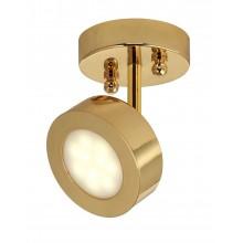 Спот светодиодный Favourite 1723-1U Lustige золото 5 Вт 3000К