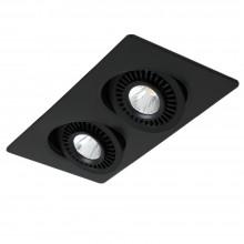 Светильник светодиодный Favourite 2416-2U Cardine черный 2*LED*5W, 800LM, 4000K