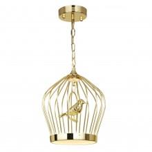 Светильник подвесной светодиодный Favourite 1930-2P Chick золото 17 Вт 3500-4000 K