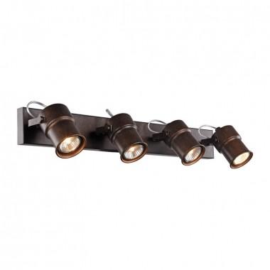 Спот в стиле Лофт Favourite 2025-4W Arcu коричневый