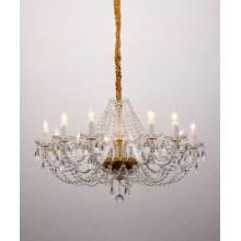 Люстра подвесная Favourite 1736-12P Simone золото