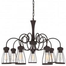 Люстра в стиле Лофт Favourite 1423-7P Workshop коричневый