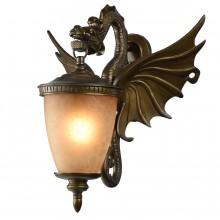 Бра уличное Favourite 1717-1W Dragon коричневый