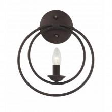 Бра в стиле Лофт Favourite 1520-1W Ringe черный