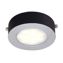 Накладной светильник Favourite 1725-1C Lustige черный 5 Вт ф100 мм 3000К